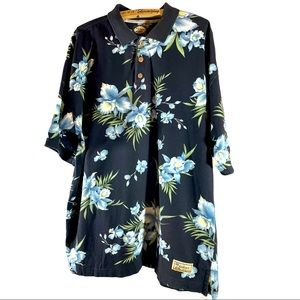 Cattleya orchids Tommy Bahama shirt XL